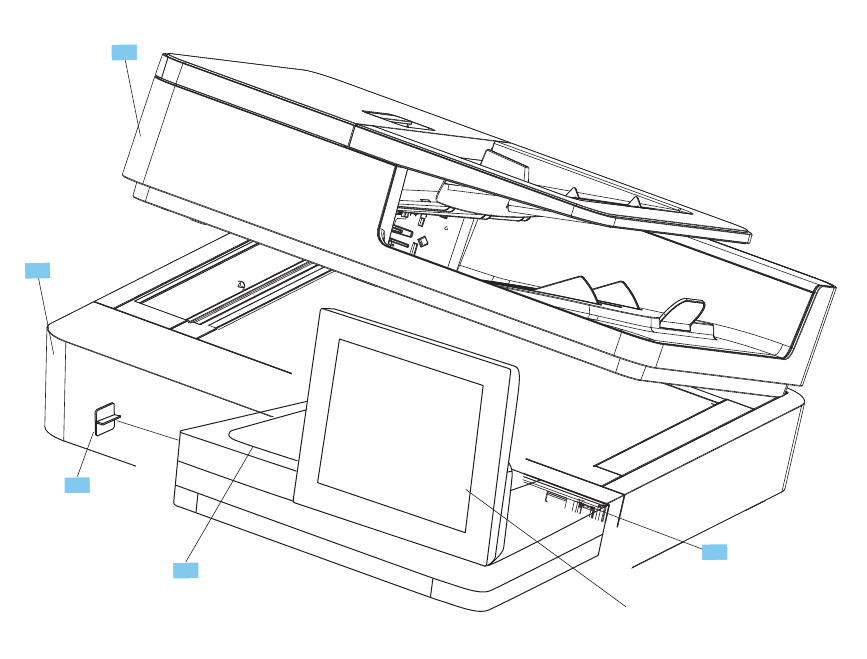 Repair Manual Color LaserJet Enterprise M651 Color