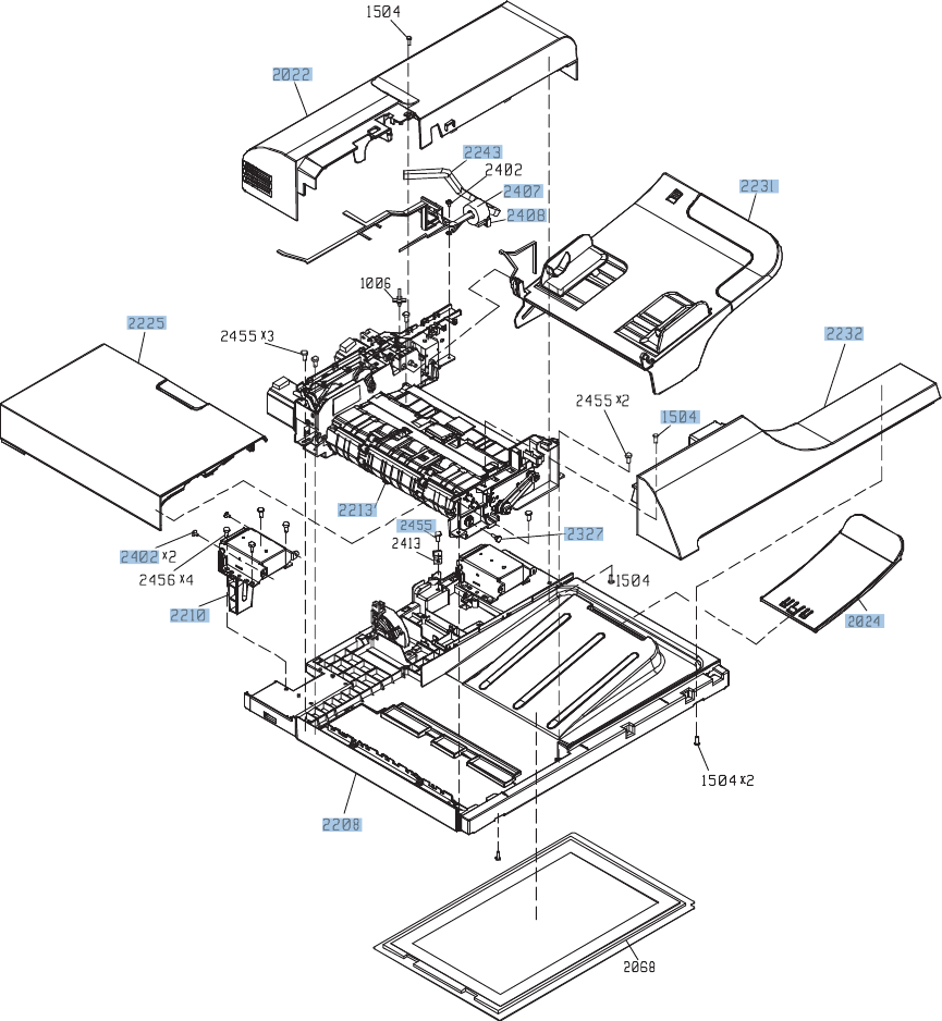 Document feeder assembly 1 of 5