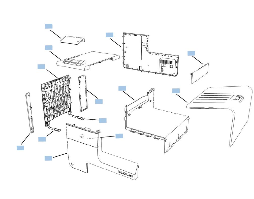 OFFICEJET PRO X451 AND X551 SERIES PRINTERS Repair Manual