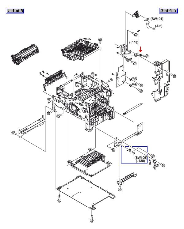 :: HP Spare Parts :: Printers and Multifunction