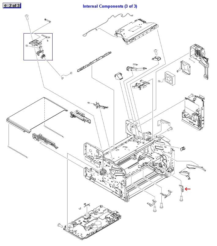 Cross member auxiliary plate :: Plate :: Printers and