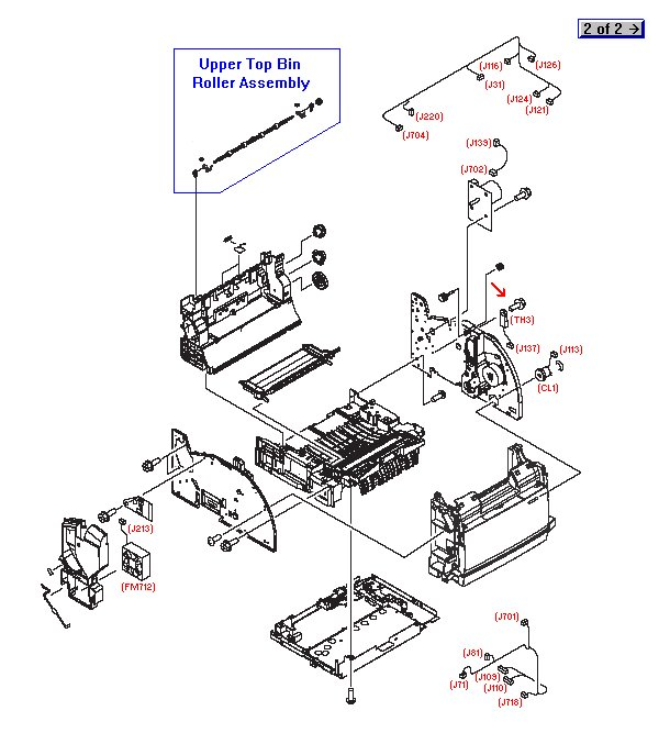 SCREW RS M3X8 :: Screw :: Printers and Multifunction :: HP
