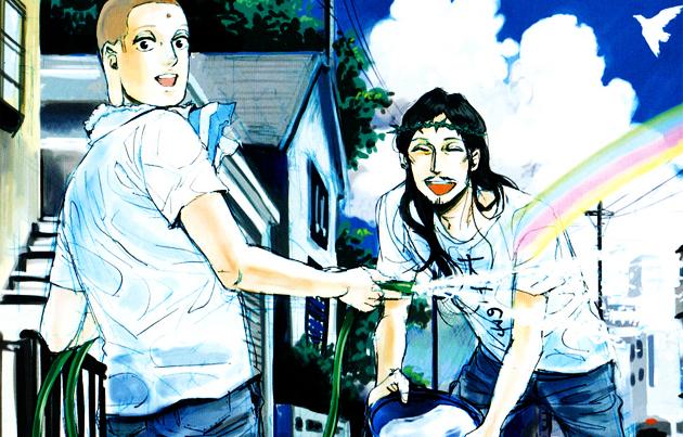 Anime de Las vacaciones de Jess y Buda en la gran