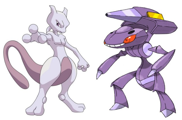 pokemon mewtwo genesect
