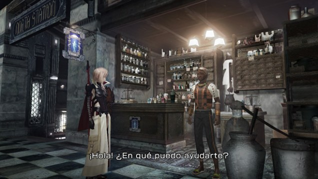 Lightning Returns Final Fantasy XIII Tienda Objetos