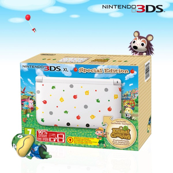 3DS XL Animal Crossing