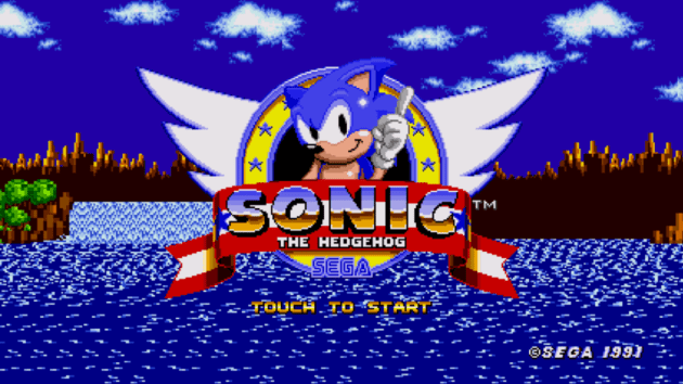 Sonic the Hedgehog Remastered logo