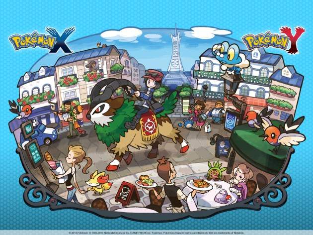 Pokemon x y wallpaper 01