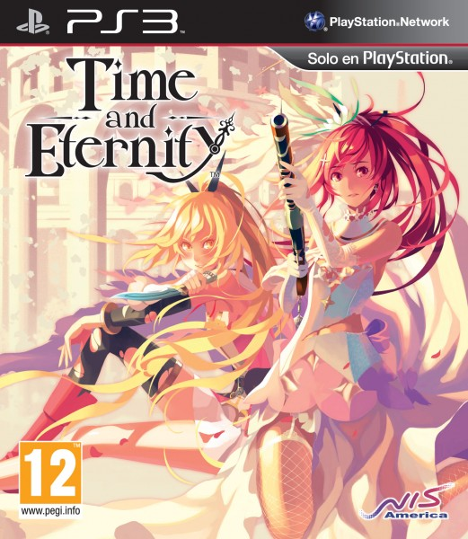 Time and Eternity portada espanola