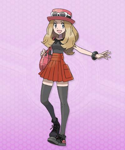 pokemon x y entrenadora chica 01