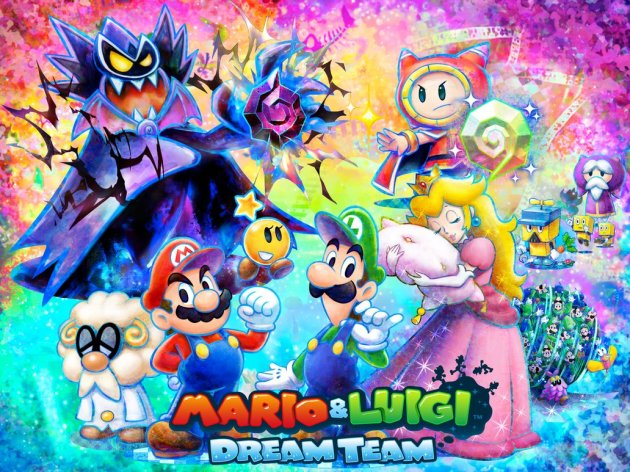 Mario Luigi Dream Team