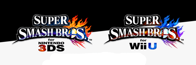 Super Smash Bros logos