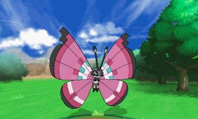 Vivillon puede usar sus alas para atacar creando fuertes corrientes de aire.