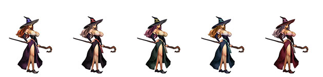 hechicera-paleta-colores-dragons-crown