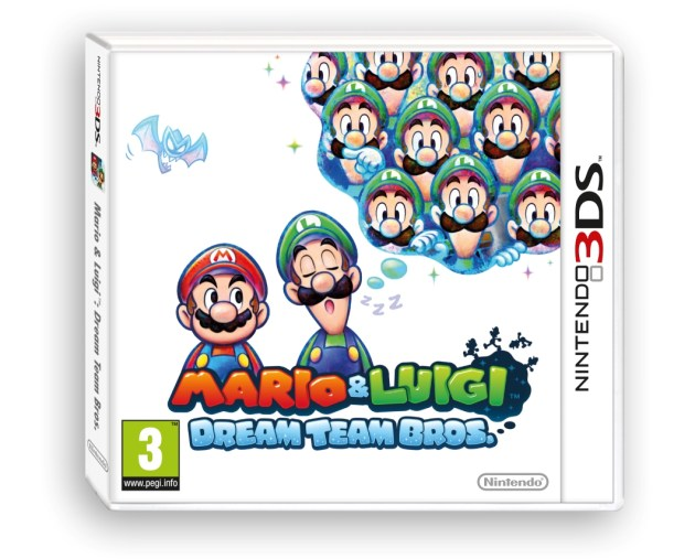 mario luigi dream team bros