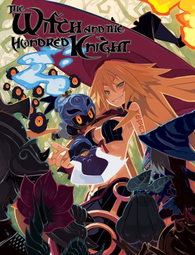 the witch and the hundred knight art
