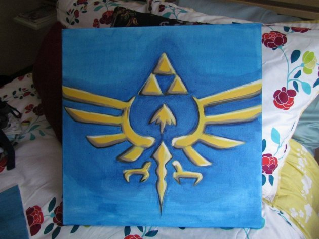 Zelda Skyward Sword pintura 25