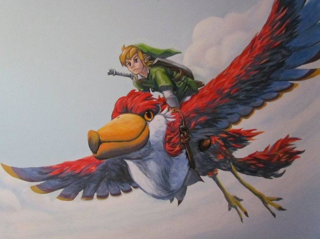 Zelda Skyward Sword pintura 35