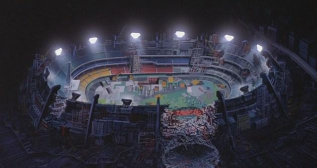 El estadio de Neo Tokio 2020
