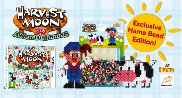 Harvest Moon 3DS Hama Bead Edition