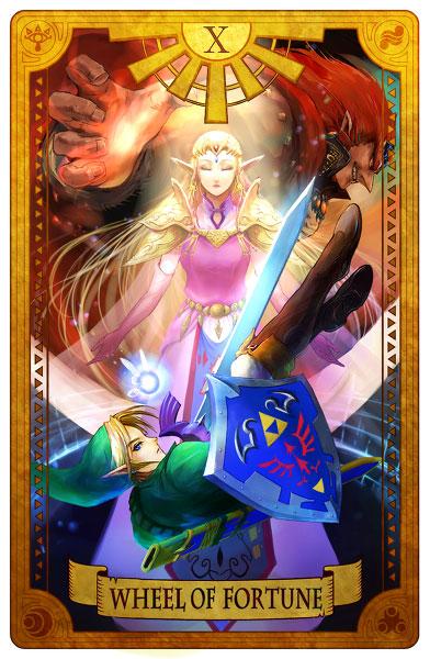 Cartas Del Tarot De The Legend Of Zelda