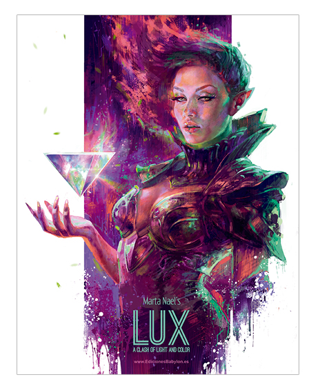 lux a clash of light and color marta nael