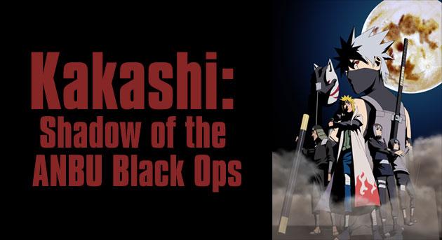 Kakashi Shadow Anbu Ops
