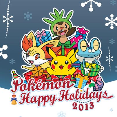 Pokemon feliz navidad