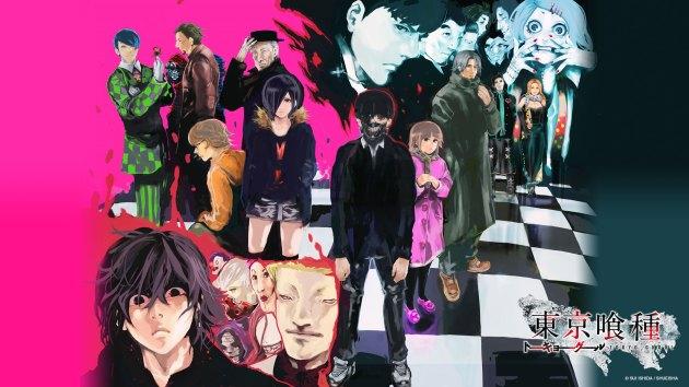 Tokyo Ghoul artwork