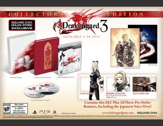 Drakengard 3 coleccionista 02