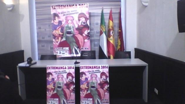 Extremanga 2014 presentacion merida