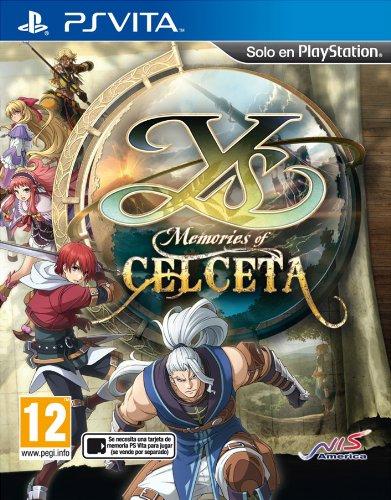 Ys memories of celceta pal cover