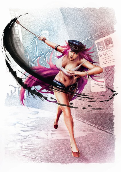 poison ultra street fighter iv