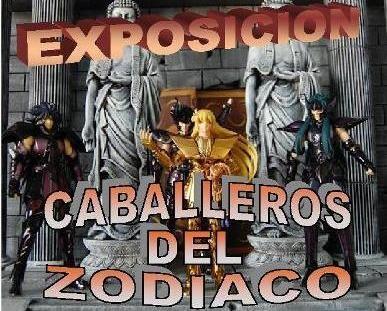 Exposicion Saint Seiya Extremanga