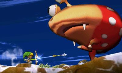 Gameplay Smash Bros 3DS (6)
