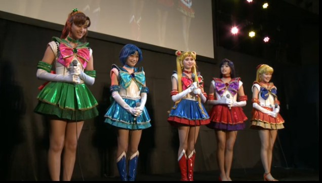 Sailor Moon Crystal teatro 2014