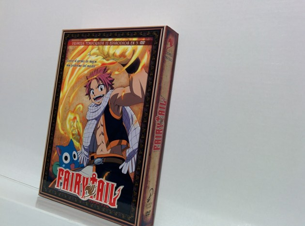 fairy tail dvd selecta vision