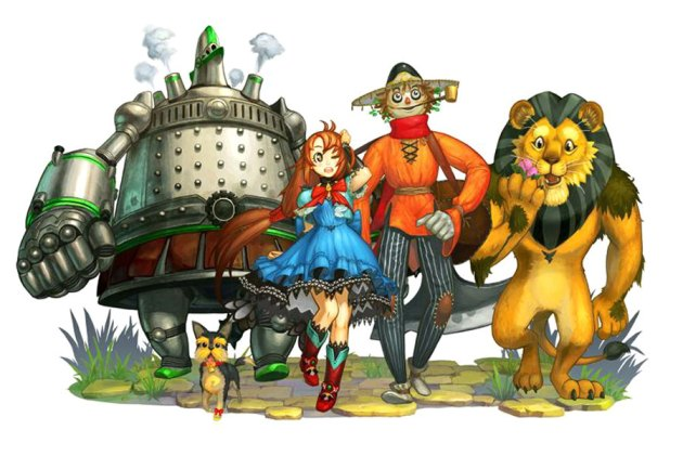 The Wizard of Oz Beyond the Yellow Brick Road DS
