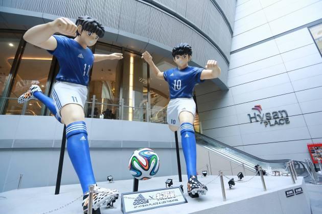 Captain Tsubasa statue 08
