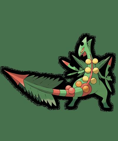 Pokemon Rubi Omega Zafiro Mega Sceptile 00