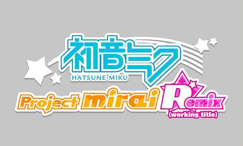 Hatsune Miku Project Mirai Remix logo