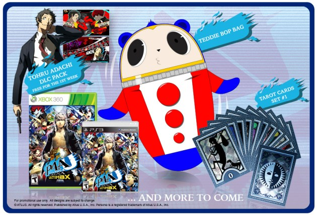 Persona 4 Arena Ultimax preorders