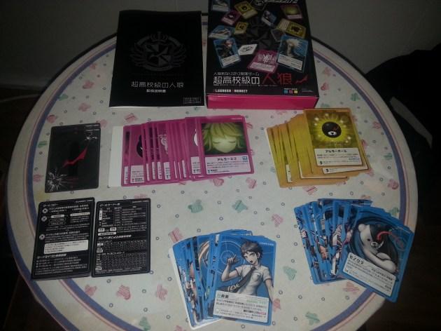 Danganronpa juego de cartas 01