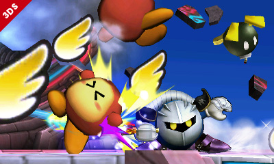 Meta Knight Super Smash Bros 3DS Wii U 10
