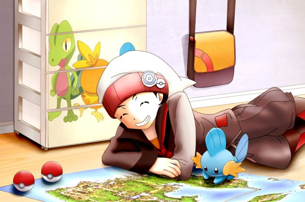 Pokemon Rubi Zafiro fanart