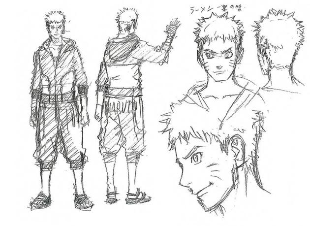 The Last Naruto The Movie Sketch