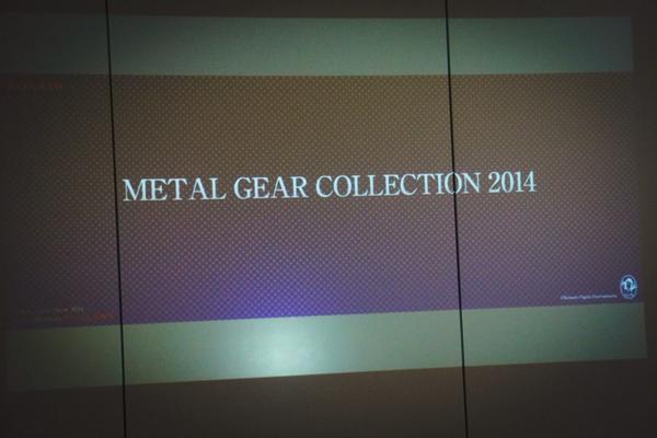 Metal Gear Collection 2014 kojima