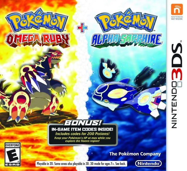 Pokemon Omega Ruby Alpha Sapphire Dual Pack