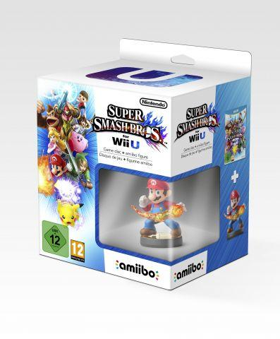 Super Smash Bros Wii U amiibo mario