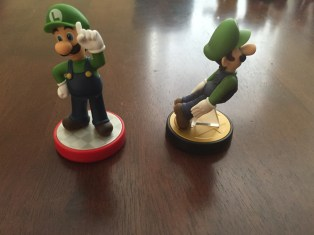 Amiibo Luigi Super Mario